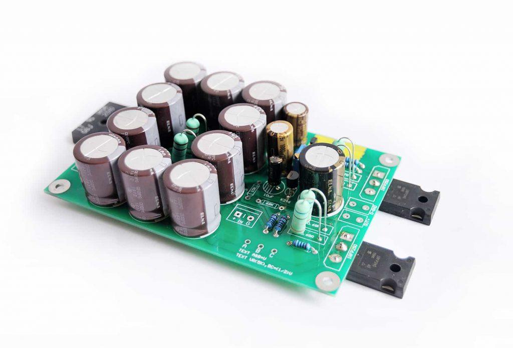 DIY ACA class A amplifier with linear power supply  - Audiophile Diyer